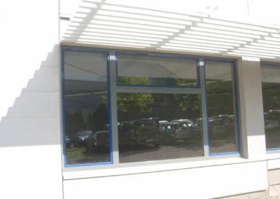Bürogebäude-Neubau